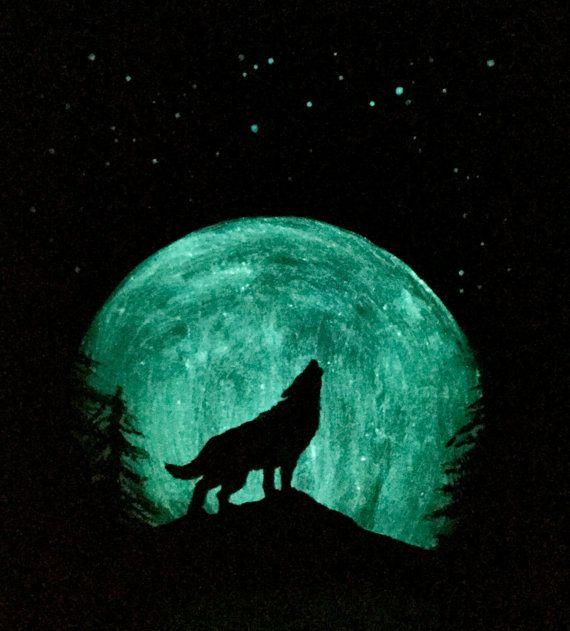 Glowing Moon
