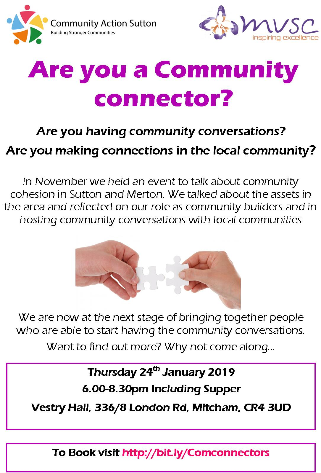 Community Connector Flyer image