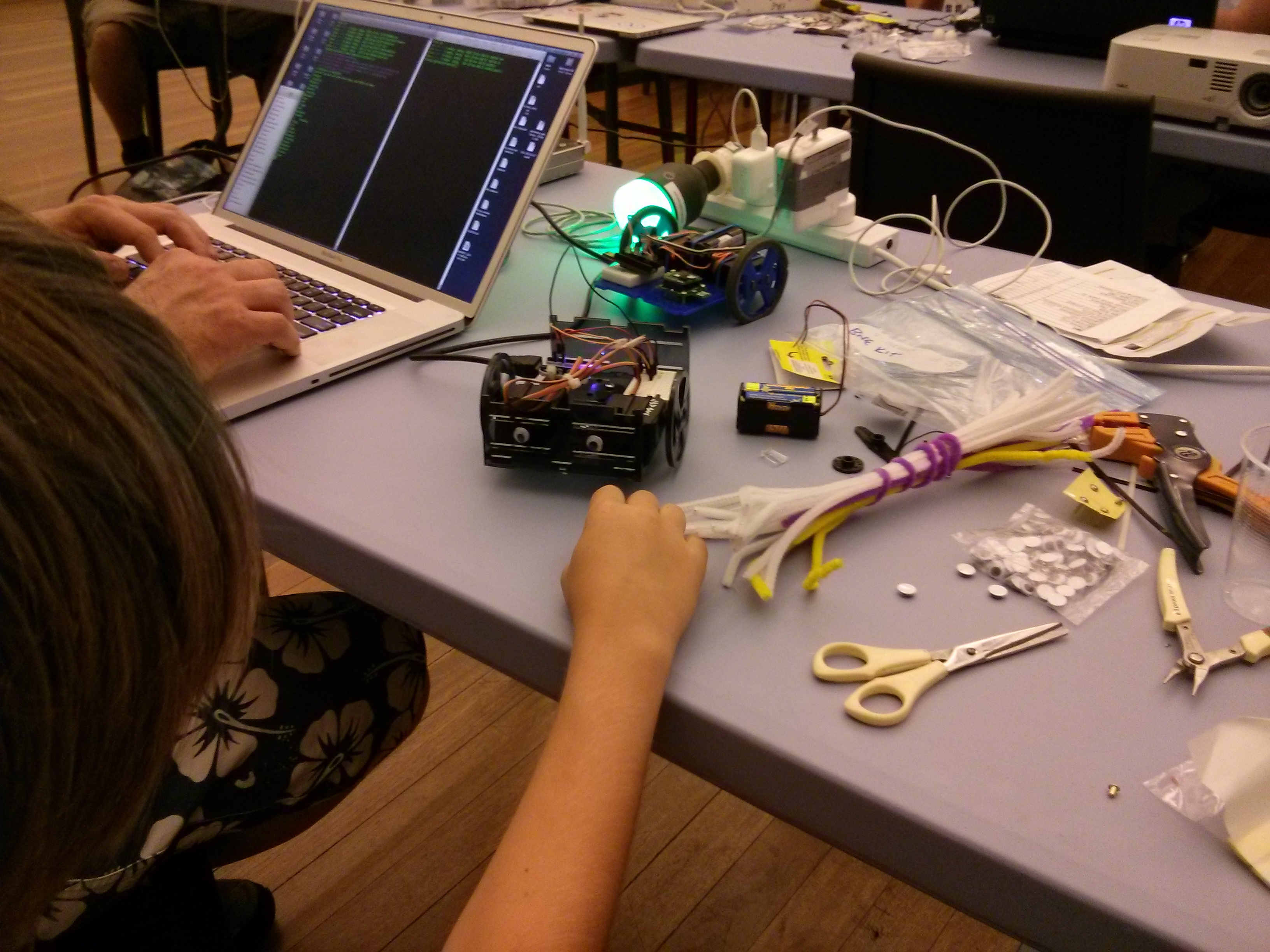 Playing with NodeBots
