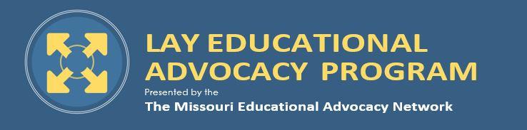 Lay Educational Advocacy Program Banner