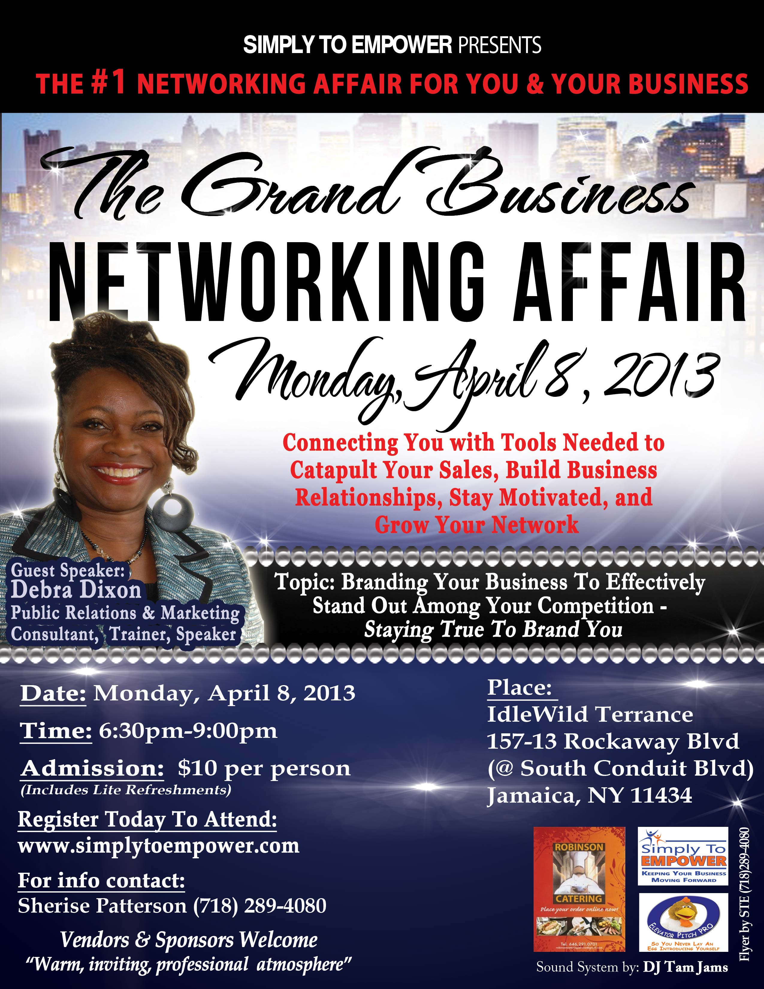 Grand Business Networking Affair; April 2013