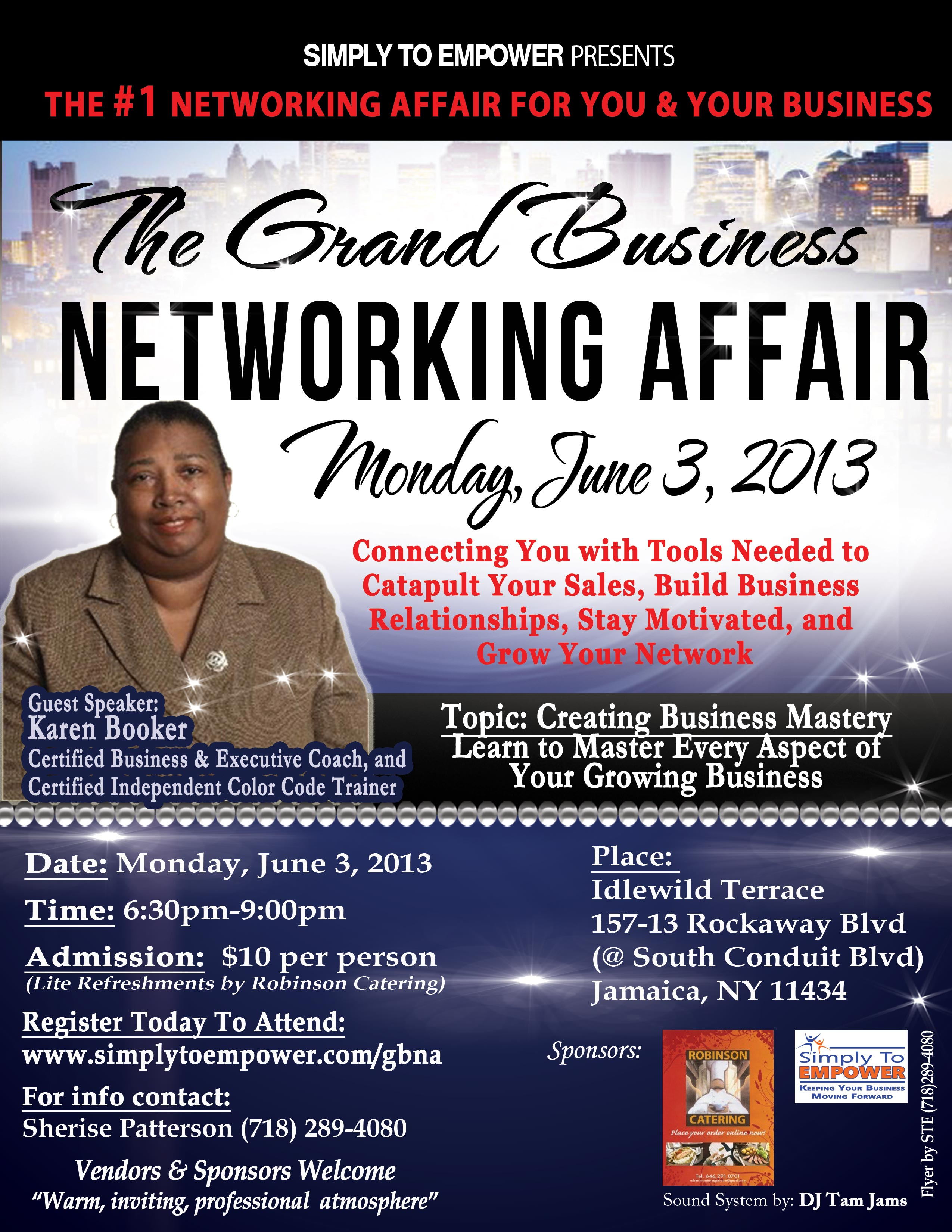 GBNA Monday, June 3, 2013