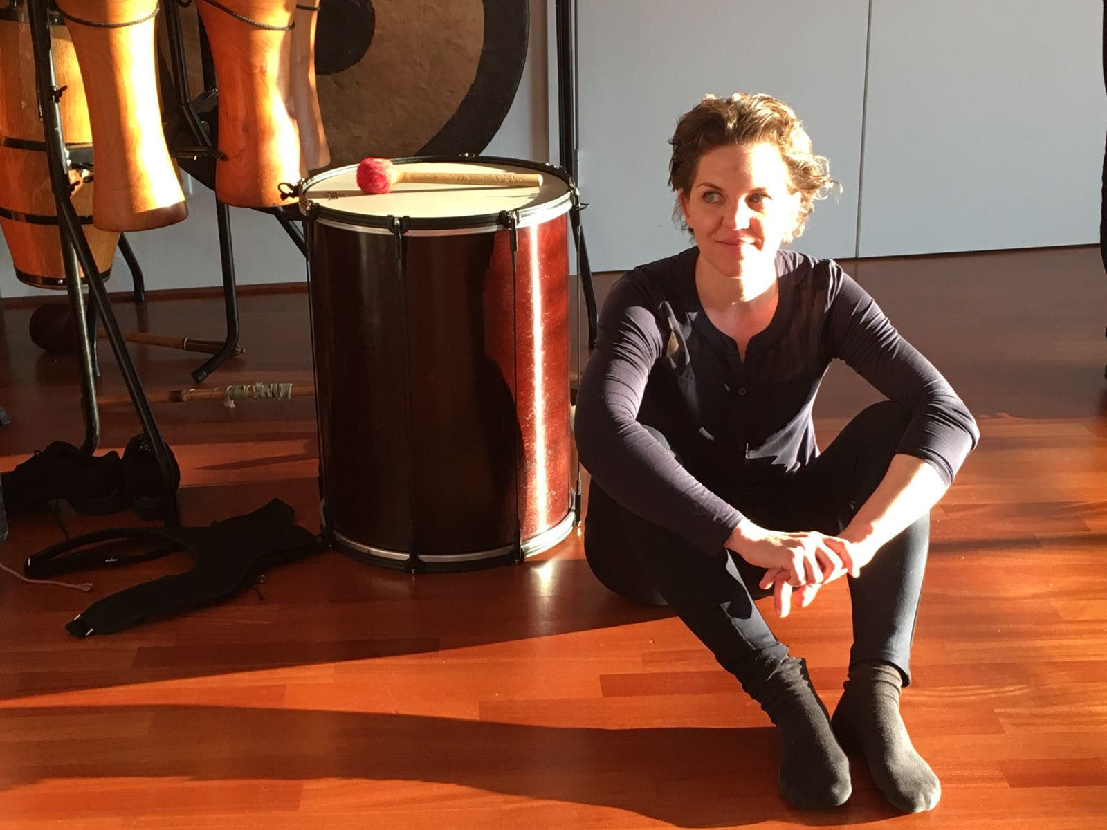 Katharina Loibner im TaKeTiNa Institut Purkersdorf