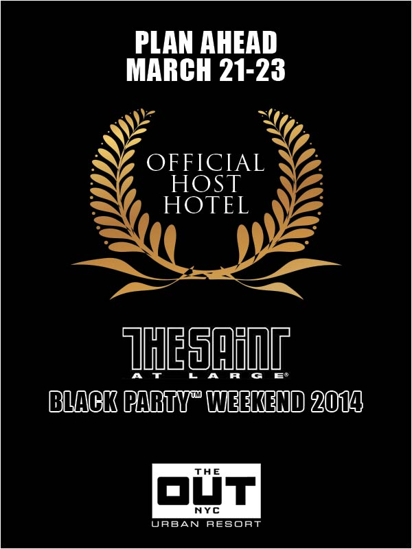 Black Party Host Hotel THE OUT NYC