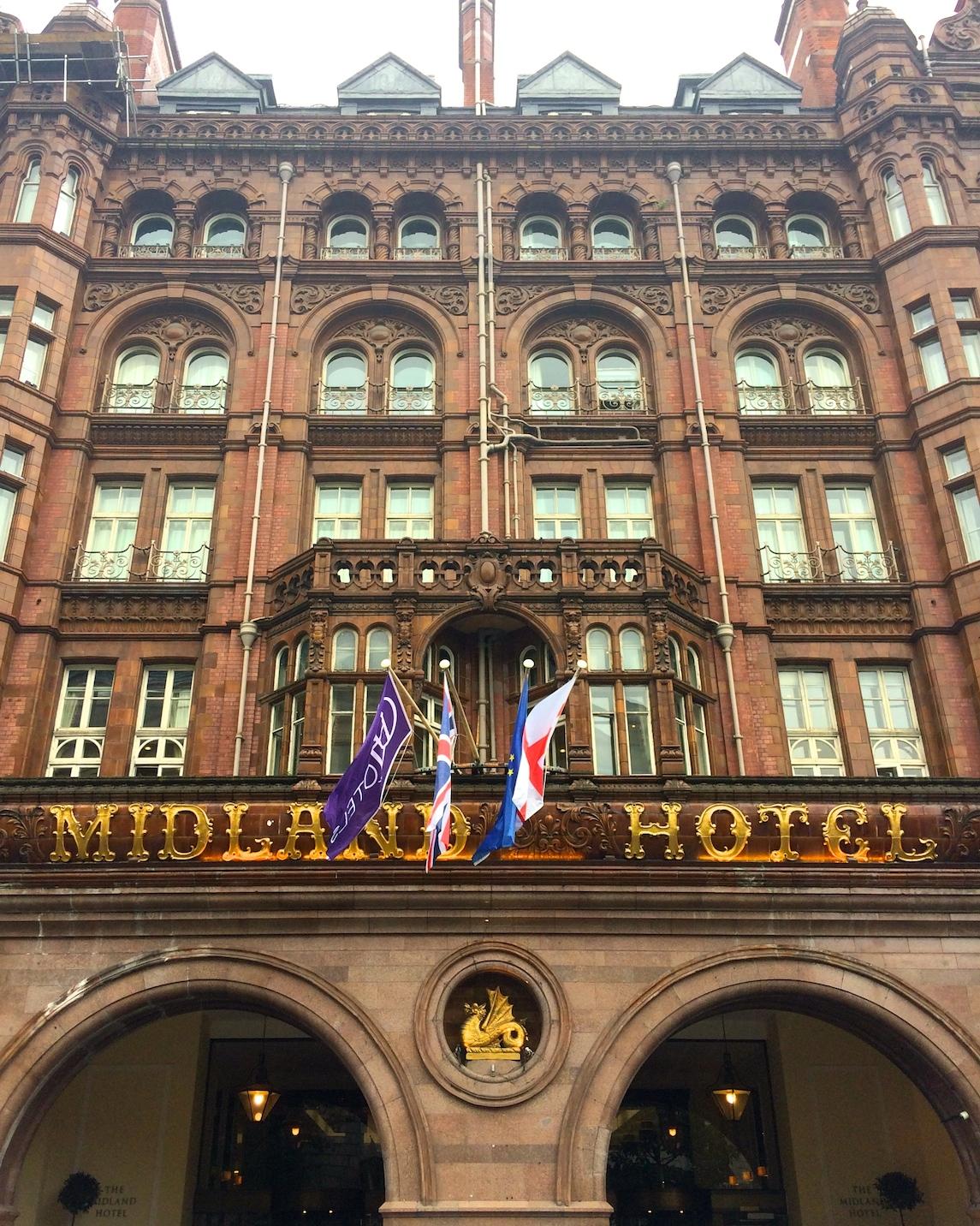 Midland Hotel facade