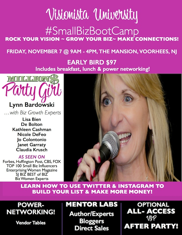 Small Business Boot Camp with Experts, Vendors and Mentor Labs