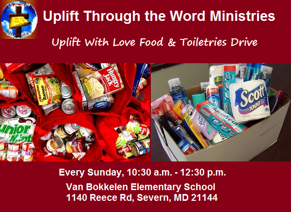 Food and Toiletries Drive