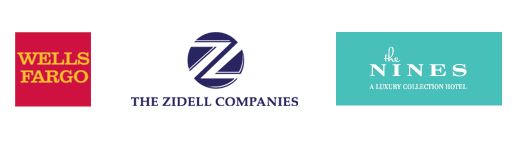 Program sponsor logos: Wells Fargo, The Zidell Companies, the Nines