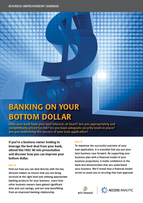 Banking on Your Bottom Dollar