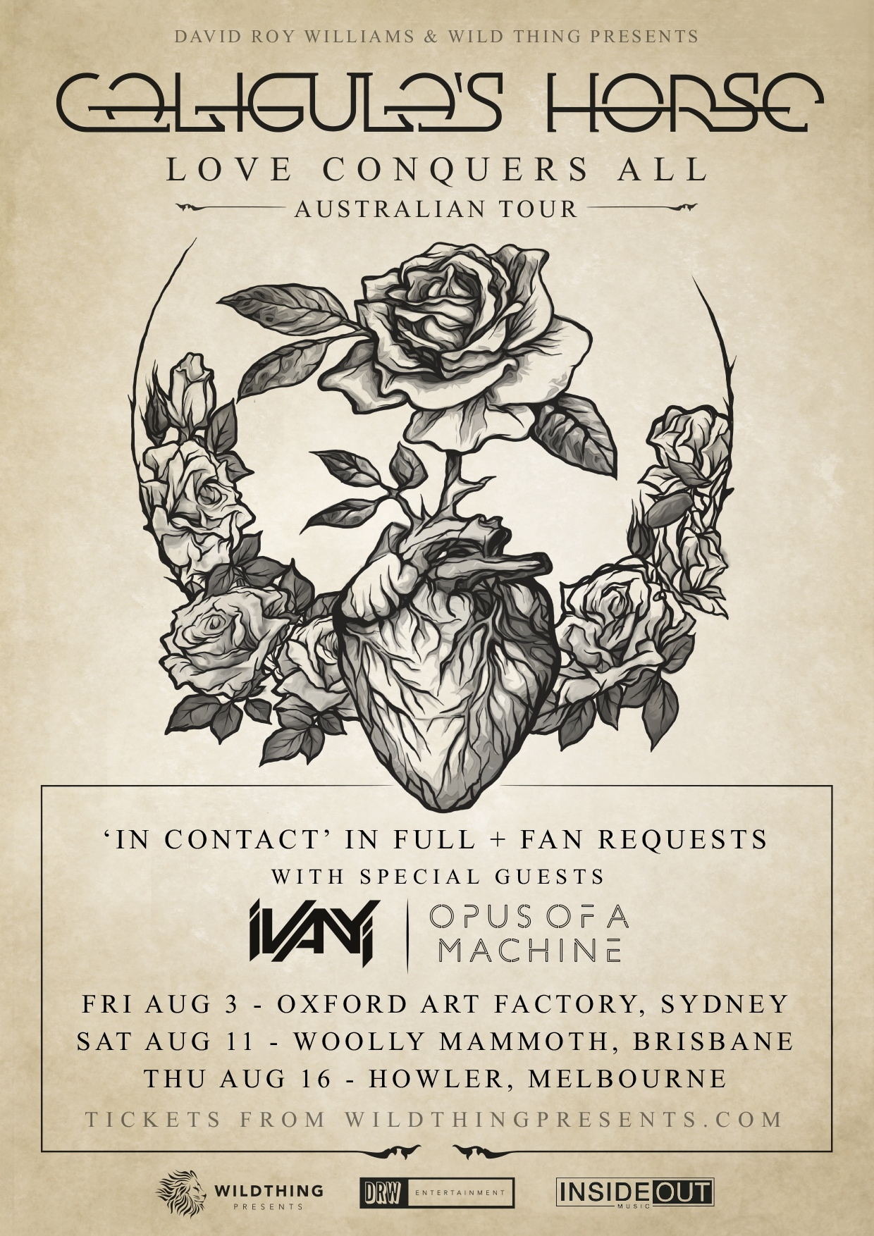 CHLCA Tour Poster