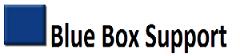 Blue Box Support logo