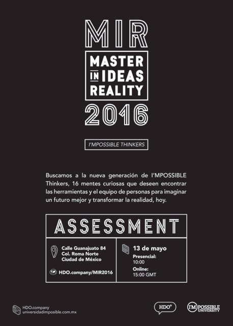 Assessment MIR 2016