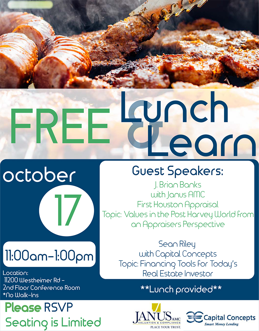 Real Estate Investors Lunch & Learn
