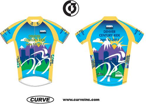 2011 Denver Century Ride Jersey
