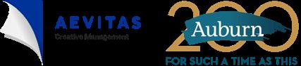 Aevitas and Auburn Seminary Logos