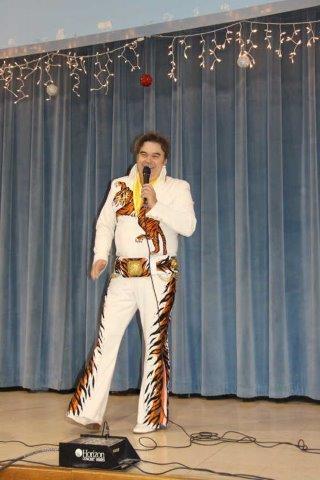 Bruce Borders Elvis Impersonator