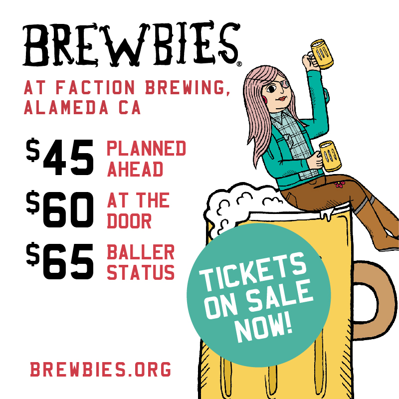 Brewbies® 2nd Annual at Faction Brewing