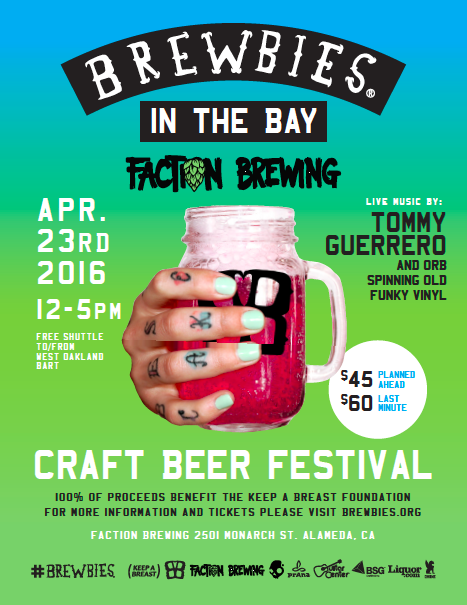 Brewbies In The Bay Flyer