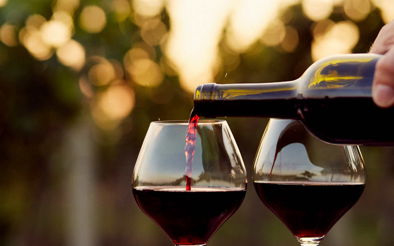 Red Wine in Italy