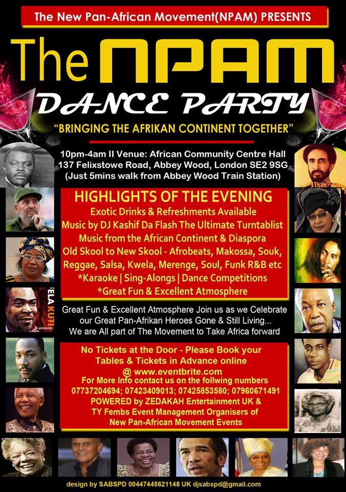 New Pan-African Movement(NPAM) Event