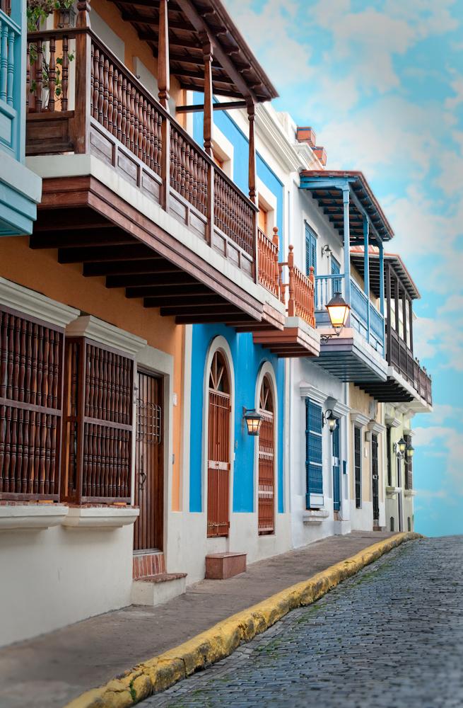 Historic Streets of Old San Juan