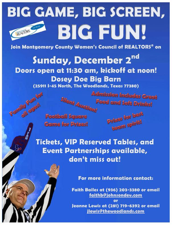 WCR Big Game Invite - December 2, 2012