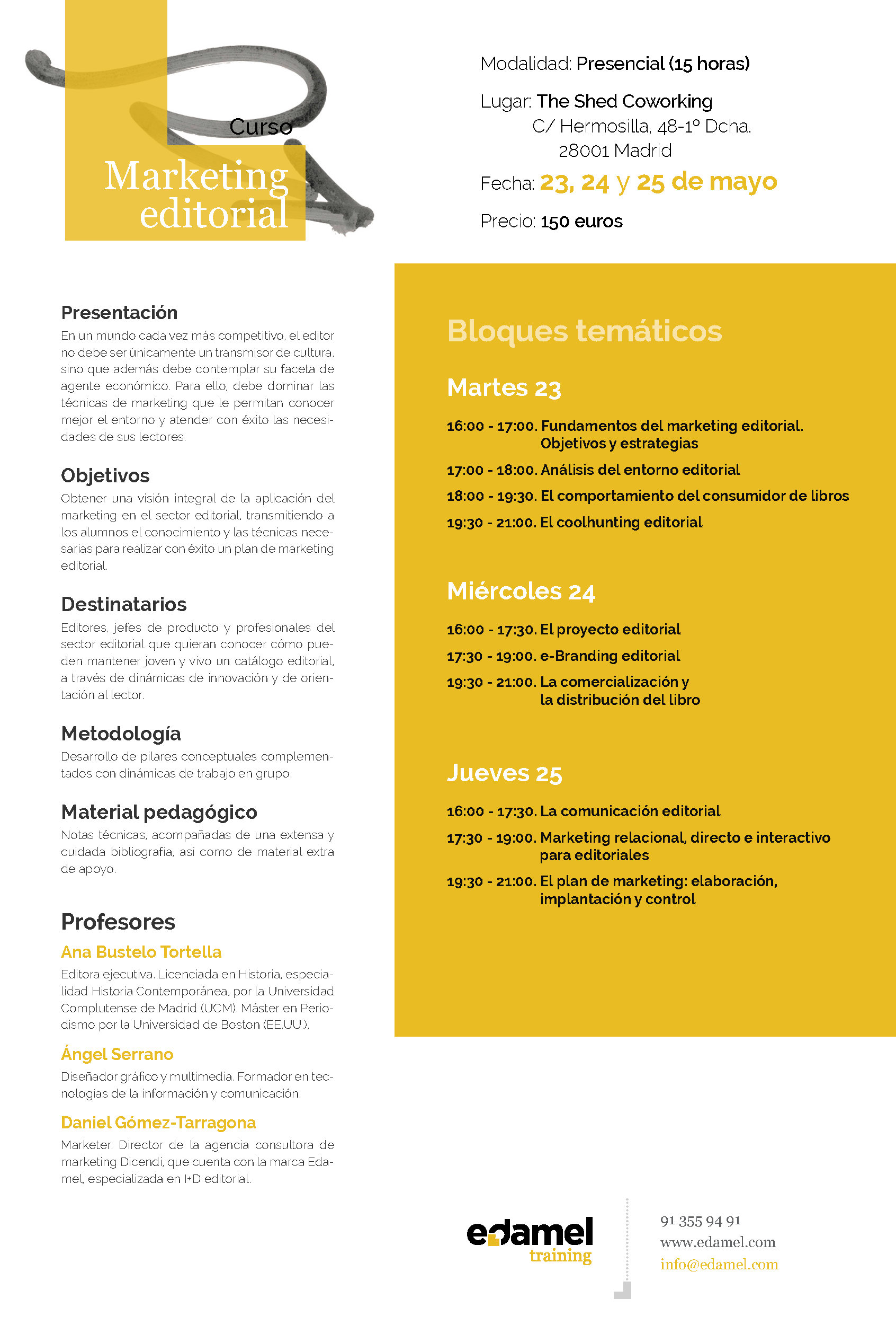 Curso Marketing Editorial Mayo 17