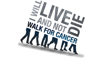 """I Will LIVE and Not Die!"" 5K Walk for Cancer"