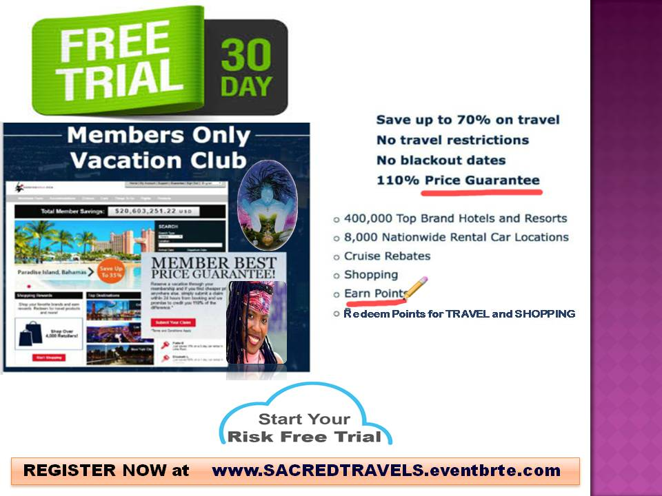 FREE 30 day SWBN- VACATION Club TRIAL-