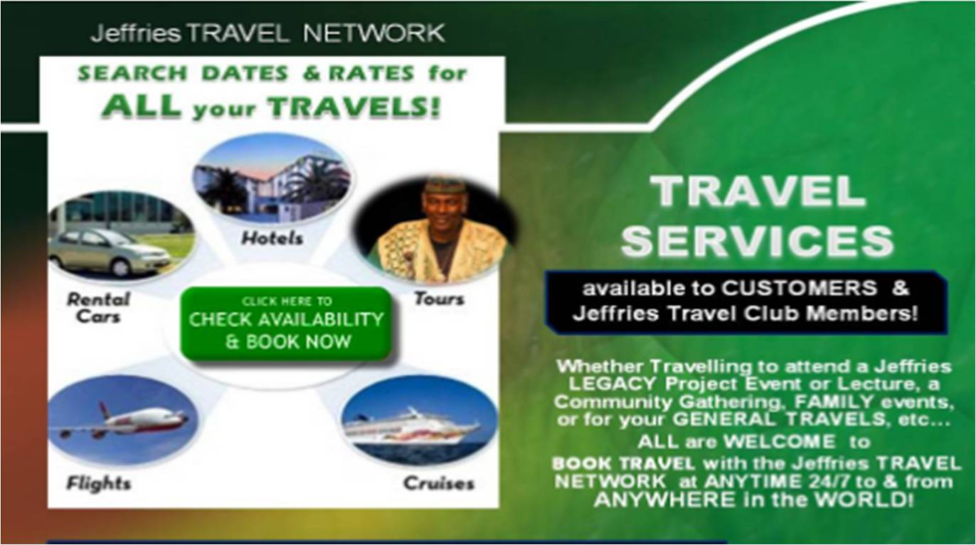 Travel GENERAL - BOOKING ONLINE Services