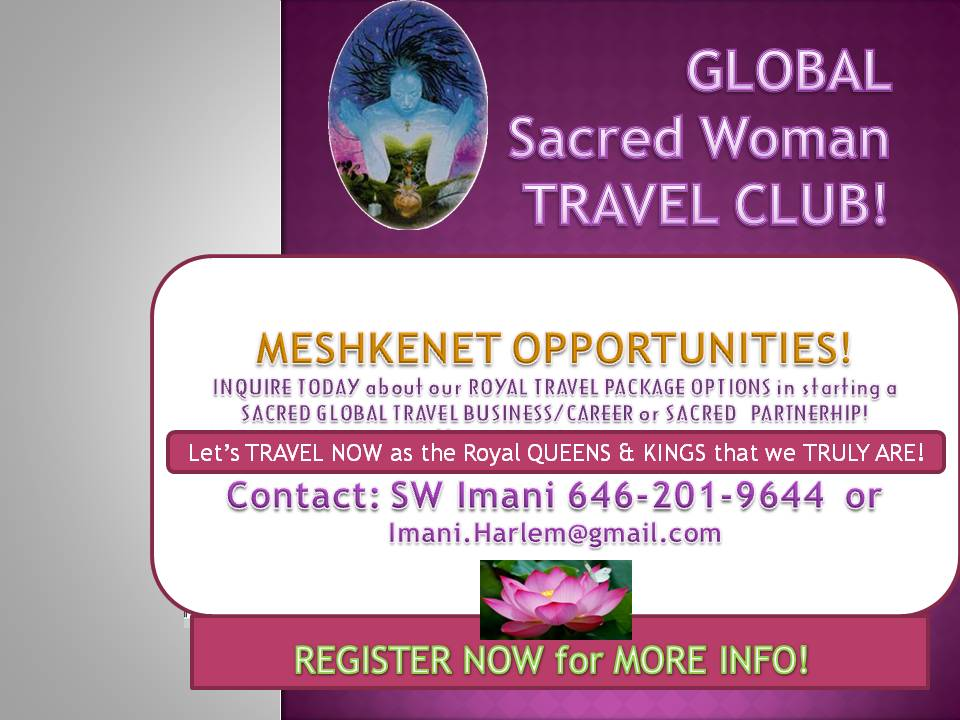 Global Sacred Woman- Queen Afua TRAVEL CLUB launch! Tickets