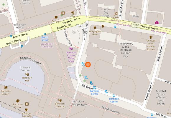 Linklaters OpenStreetMap