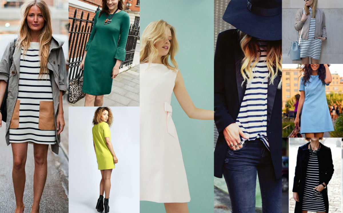 Jersey dress:  the ultimate Autumn outfit