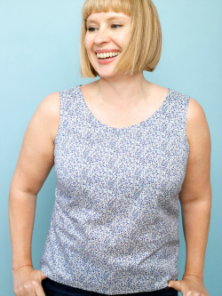 Summer shell top- A beginners dressmaking class