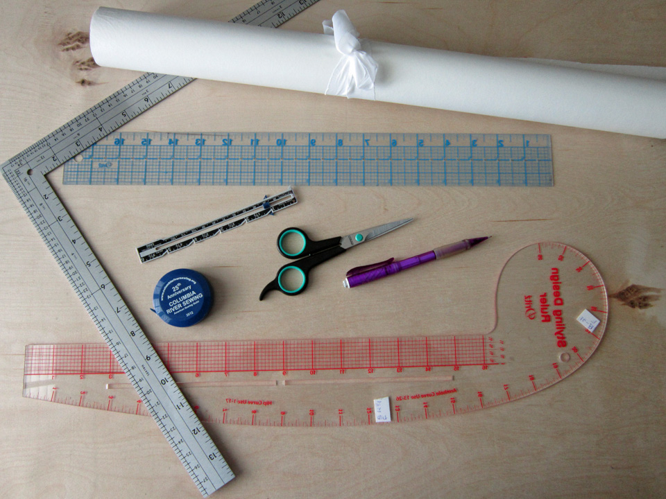 Tools Used In Drafting Equipment Or Instrument : Draft your own bodice block pattern cutting course
