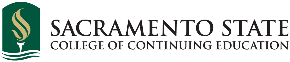 Sacramento State College of Continuing Education logo