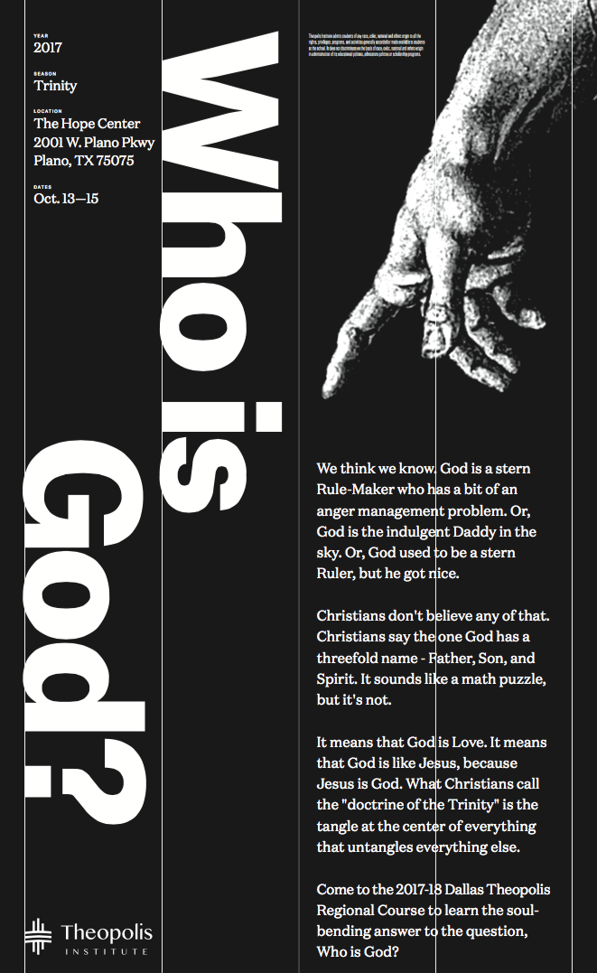 Who is God? Poster