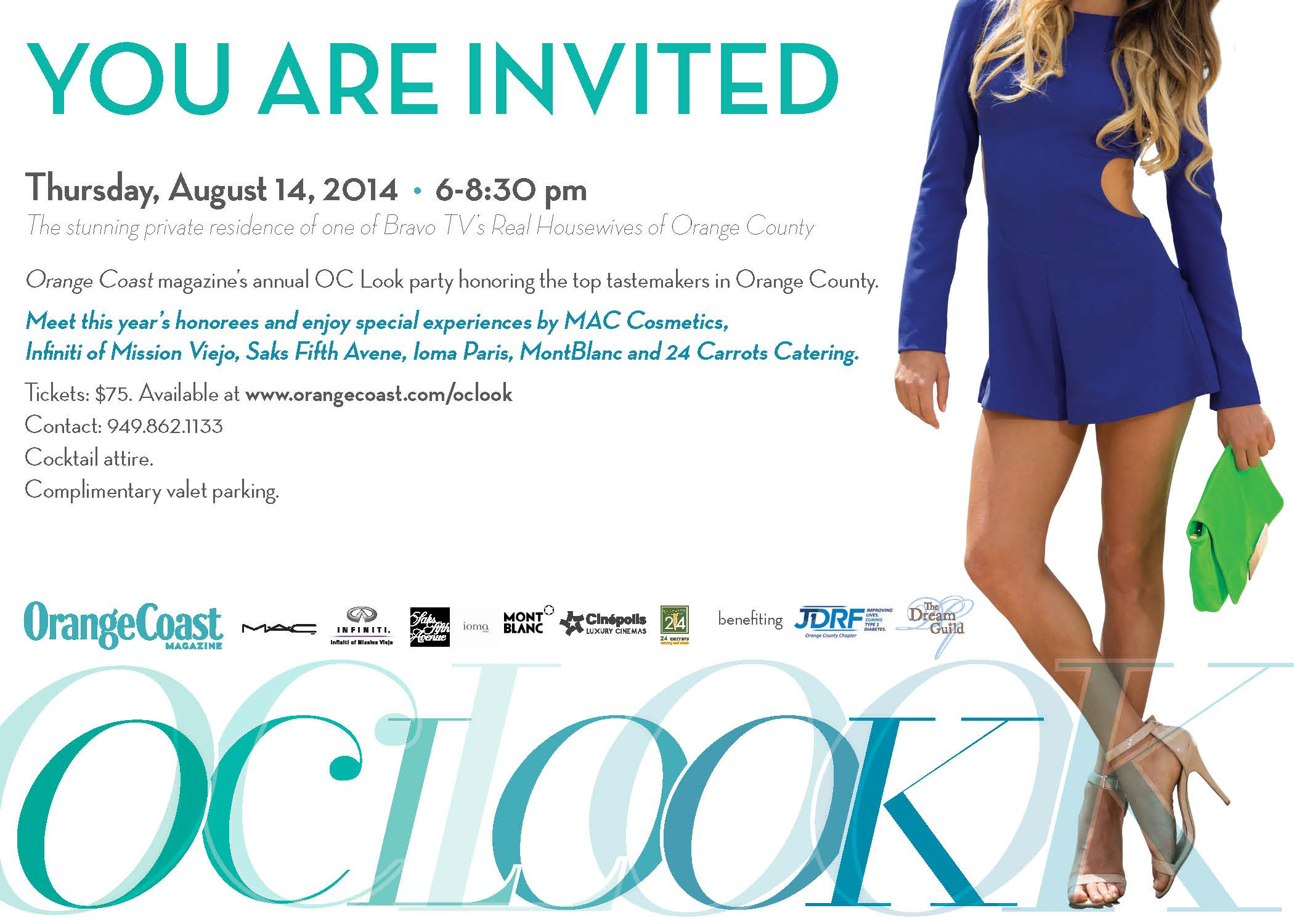 OC Look 2014 Save the Date