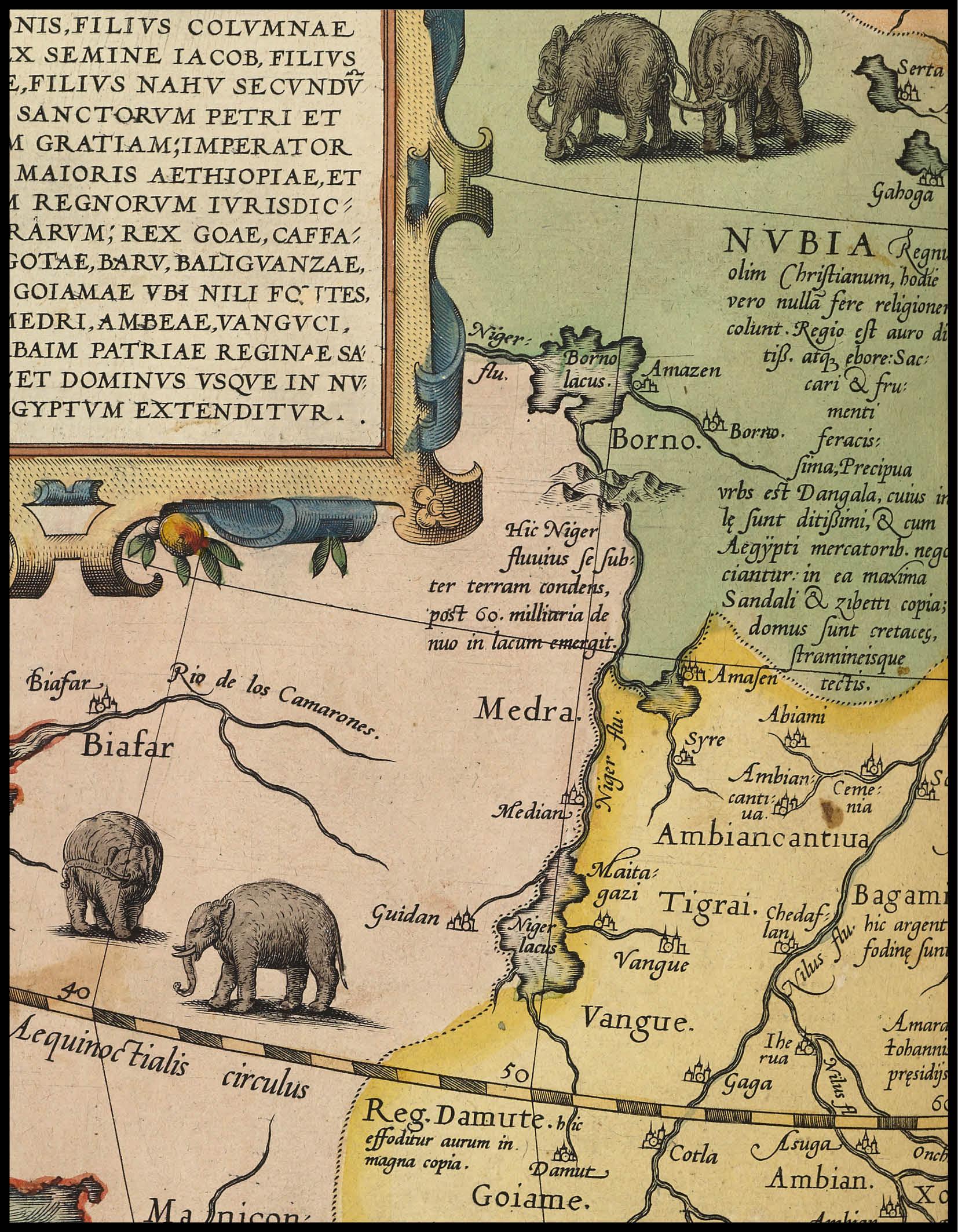 Africa, Ortelius Atlas