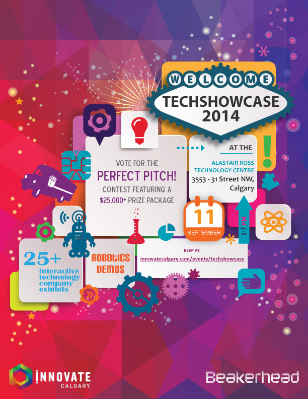 Tech Showcase 2014 poster