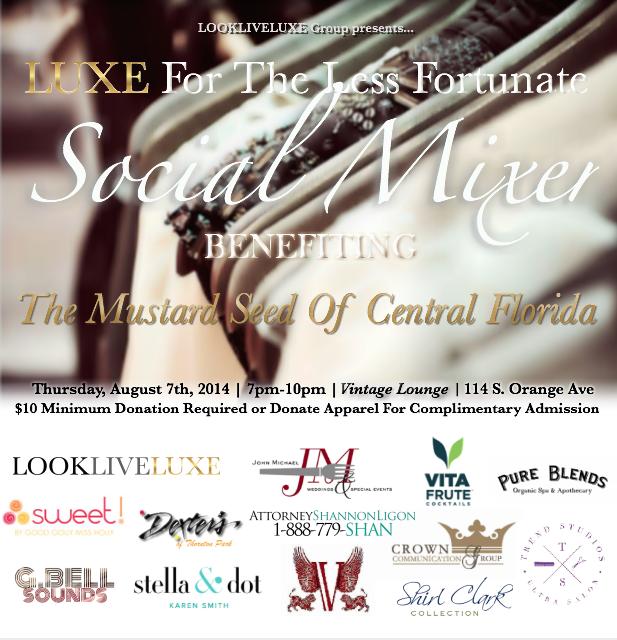 LUXE Social Mixer