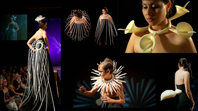 TomorroWear 3D Printed 3D Printing Fashion
