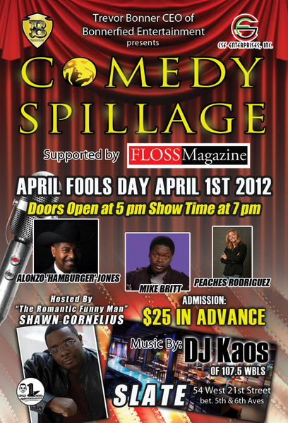 Comedy Spillage - April Fools II Edition