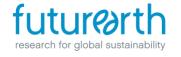 Future Earth logo