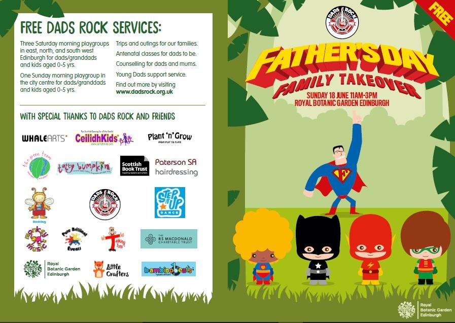 Dads Rock Leaflet