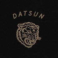 Picture of tiger with the word Datsun