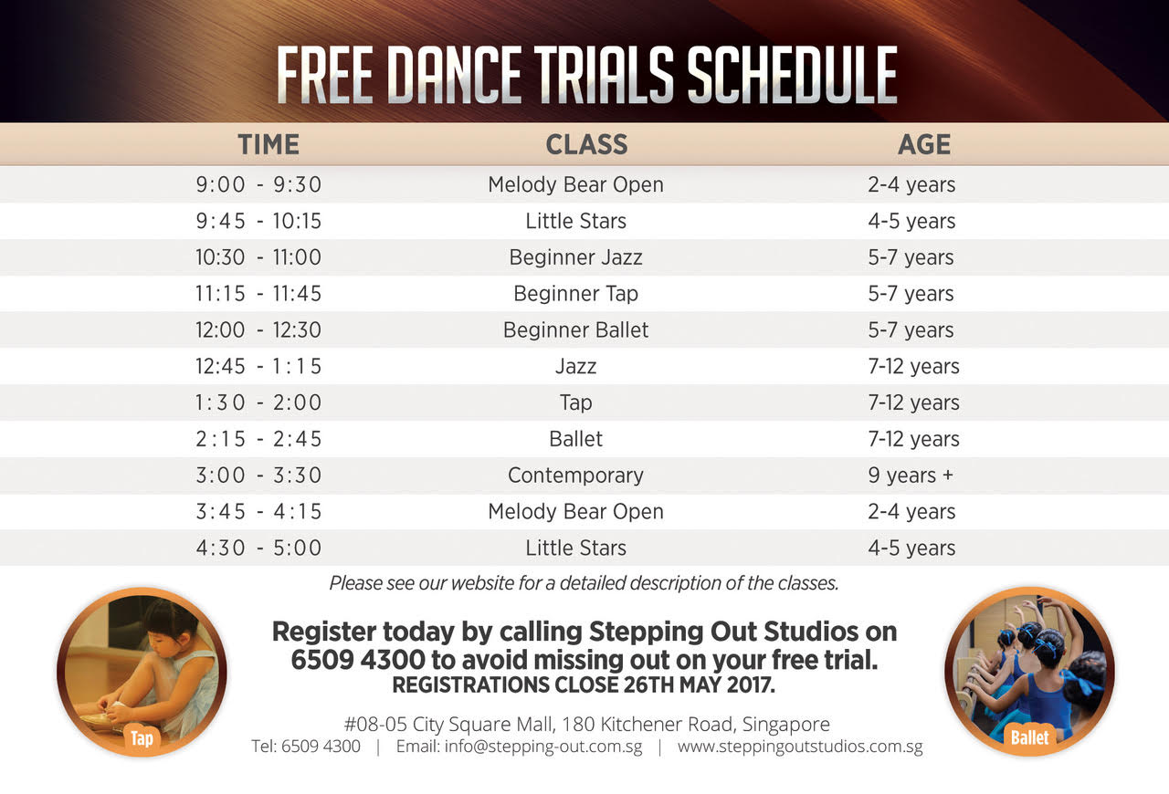 Trial Schedule