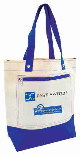 Canvas Tote Bag awarded to Advocate and Supporter Registrants