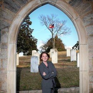 Robin Simonton of Oakwood Cemetery in Raleigh, NC