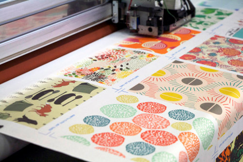 Spoonflower printing